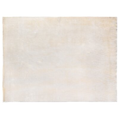 Softest Touch Hand-Woven White Area Rug Rug Size: Rectangle 14 x 18