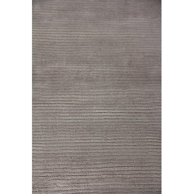 Hand Woven Silk Light Silver Area Rug Rug Size: Rectangle 15 x 20