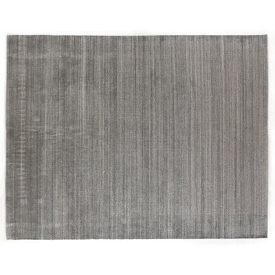 Sanctuary Hand Woven Silk Gray Area Rug