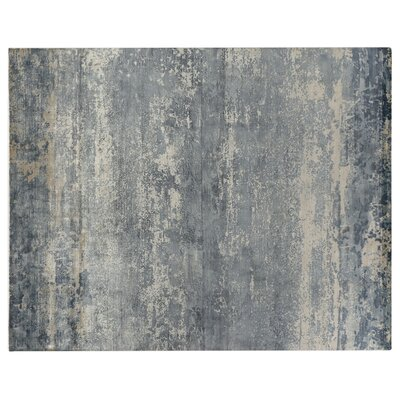 Koda Hand Woven Silk Ocean Area Rug Rug Size: Rectangle 8 x 10