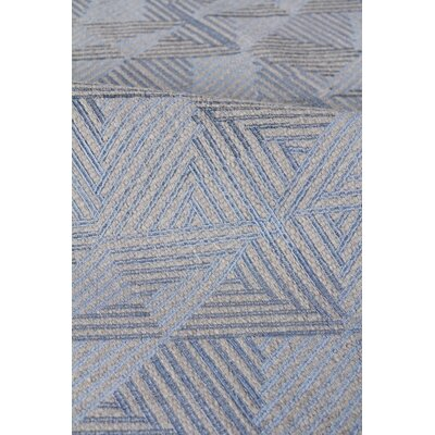 Pavillion Wool Blue/Silver Area Rug Rug Size: Rectangle 9 x 12