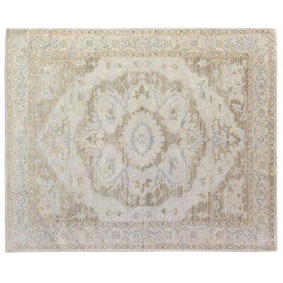 Ziegler Hand Woven Wool Neutral Area Rug