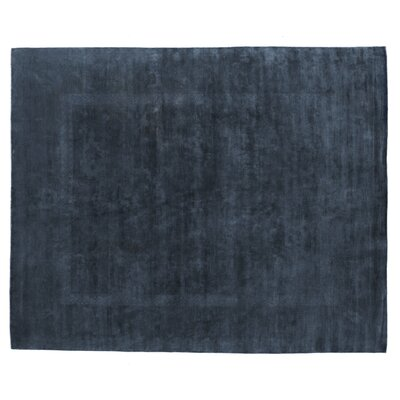 Overdyed Hand Woven Wool Turquoise Area Rug Rug Size: Rectangle 10 x 14