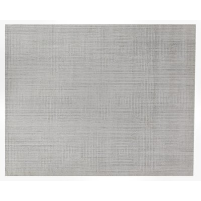 Robin Hand Woven Silk Beige Area Rug Rug Size: Rectangle 9 x 12