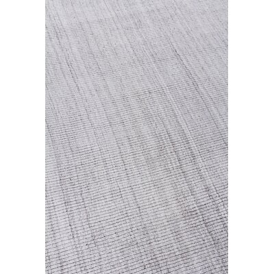 Robin Hand-Woven Silver Area Rug Rug Size: Rectangle 10 x 14