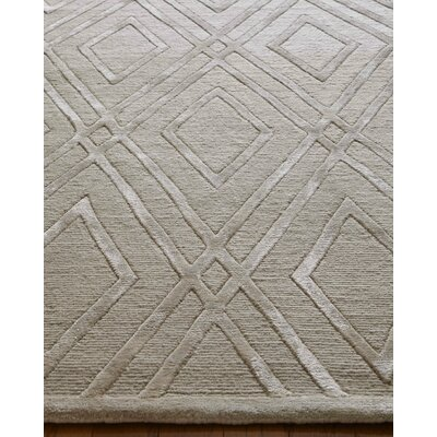 Metro Hand-Knotted Brown Area Rug Rug Size: Rectangle�14 x 18