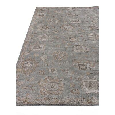 Museum Hand-Knotted Brown/Gray Area Rug Rug Size: Rectangle�8 x 10