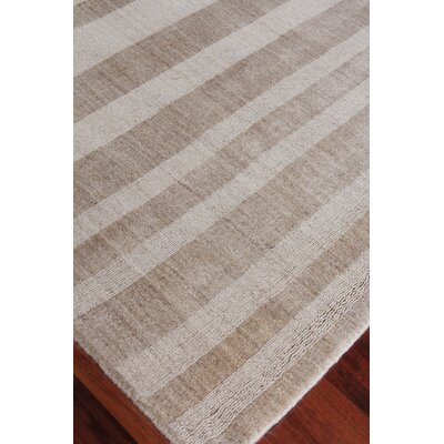 Robin Hand-Woven Beige Area Rug Rug Size: Rectangle 6 x 9