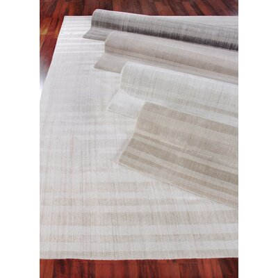 Robin Hand-Woven Silver Area Rug Rug Size: Rectangle 8 x 10