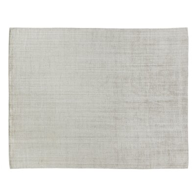 Robin Hand-Woven Light Beige Area Rug Rug Size: Rectangle 8 x 10