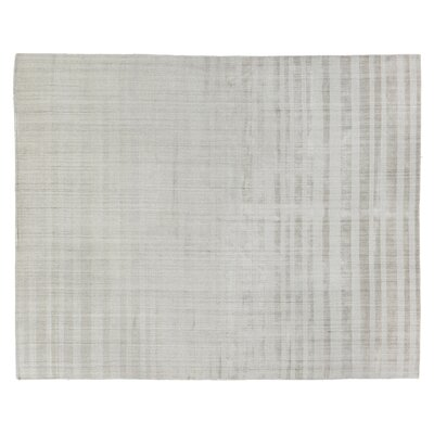 Robin Hand-Woven Light Beige Area Rug Rug Size: Rectangle 12 x 15