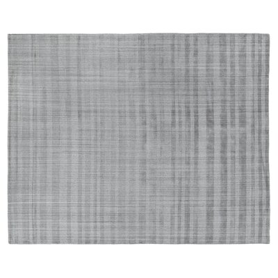 Robin Hand-Woven Gray Area Rug Rug Size: Rectangle 8 x 10