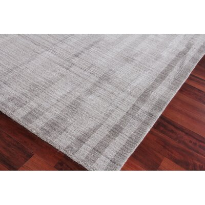 Robin Hand-Woven Gray Area Rug Rug Size: Rectangle 12 x 15