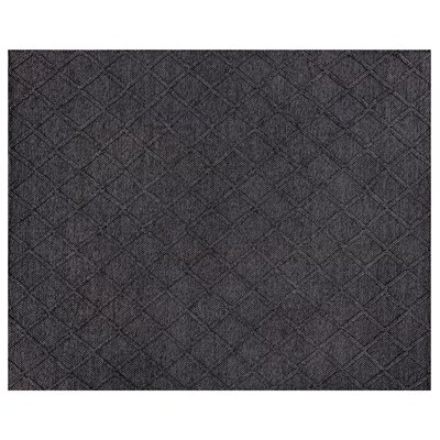 Brentwood Hand-Woven Wool Black Area Rug Rug Size: Rectangle�6 x 9