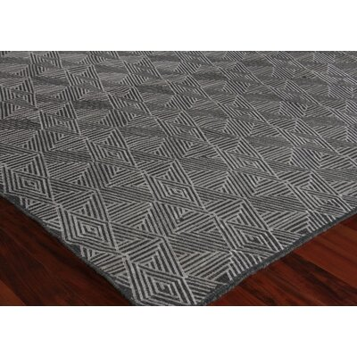 Pavillion Hand-Woven Wool Charcoal Area Rug Rug Size: Rectangle 10 x 14