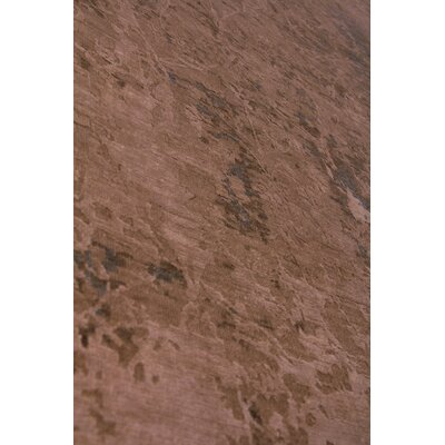 Hundley Hand-Knotted Brown/Beige Area Rug Rug Size: Rectangle�10 x 14