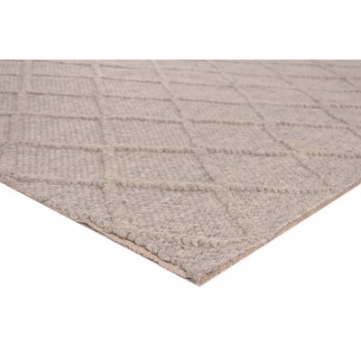 Brentwood Hand-Woven Wool Beige Area Rug Rug Size: Rectangle�6 x 9
