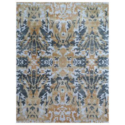 Koda Hand-Woven Brown/Black Area Rug Rug Size: Rectangle�8 x 10