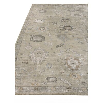 Museum Hand-Knotted Beige Area Rug Rug Size: Rectangle�6 x 9