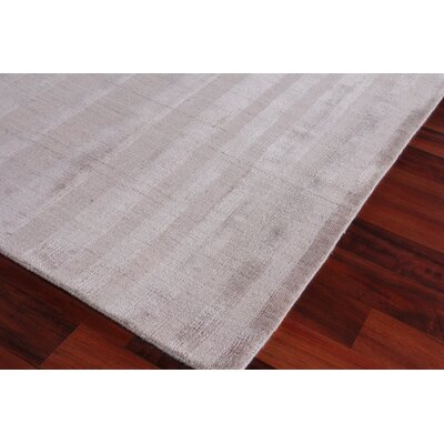Robin Hand-Woven Ash Area Rug Rug Size: Rectangle 8 x 10