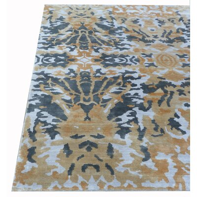 Koda Hand-Woven Brown/Black Area Rug Rug Size: Rectangle�5 x 8