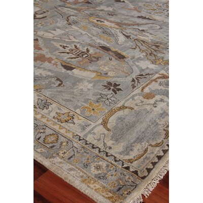 Jurassic Hand-Knotted Wool Gray/Beige Area Rug Rug Size: Rectangle�8 x 10