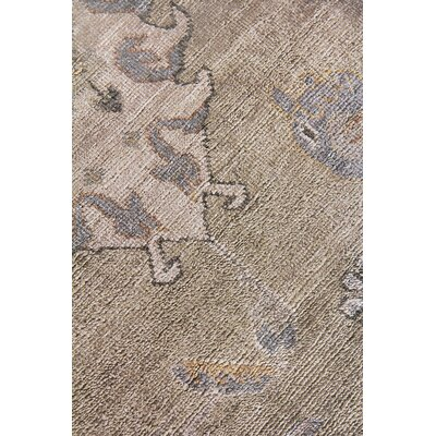 Museum Hand-Knotted Beige Area Rug Rug Size: Rectangle�10 x 14
