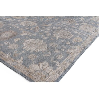 Museum Hand-Knotted Midnight Blue Area Rug Rug Size: Rectangle�6 x 9