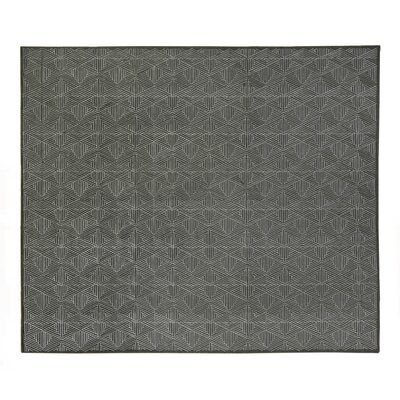 Pavillion Hand-Woven Gray Area Rug Rug Size: Rectangle 9 x 12