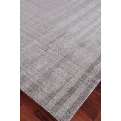 Robin Hand-Woven Gray Area Rug Rug Size: Rectangle 10 x 14