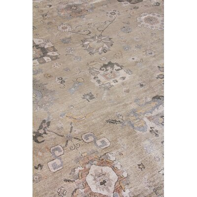 Museum Hand-Knotted Beige Area Rug Rug Size: Rectangle�8 x 10