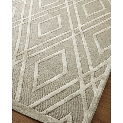 Metro Hand-Knotted Brown Area Rug Rug Size: Rectangle�9 x 12