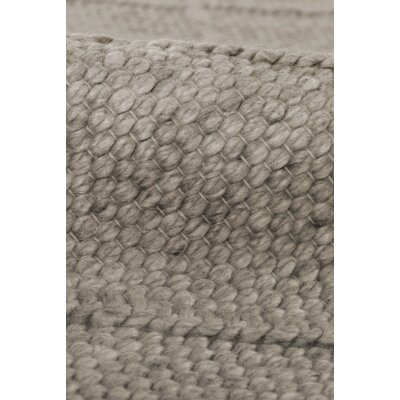 Brentwood Hand-Woven Wool Brown Area Rug Rug Size: Rectangle�6 x 9