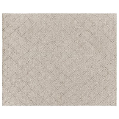Brentwood Hand-Woven Wool Beige Area Rug Rug Size: Rectangle�9 x 12