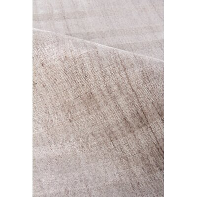 Robin Hand-Woven Light Beige Area Rug Rug Size: Rectangle 14 x 18