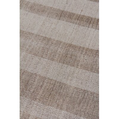 Robin Hand-Woven Beige Area Rug Rug Size: Rectangle 10 x 14