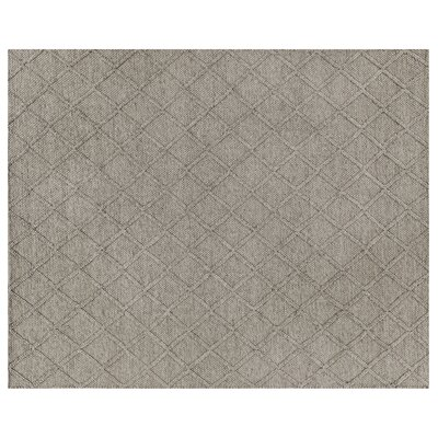 Brentwood Hand-Woven Wool Brown Area Rug Rug Size: Rectangle 12 x 15