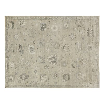 Museum Hand-Knotted Beige Area Rug Rug Size: Rectangle 14 x 18