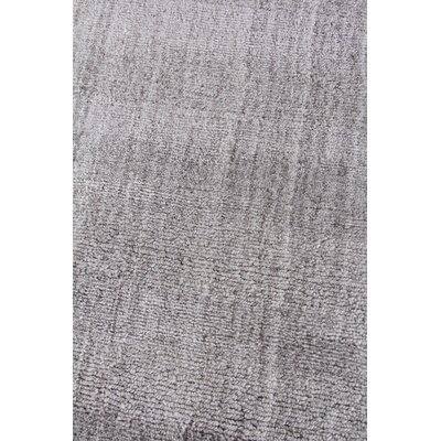 Robin Hand-Woven Gray Area Rug Rug Size: Rectangle 9 x 12