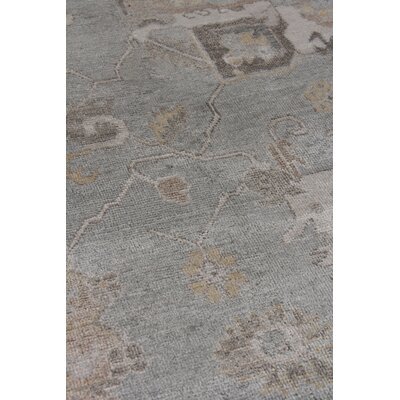 Museum Hand-Knotted Brown/Gray Area Rug Rug Size: Rectangle�12 x 15