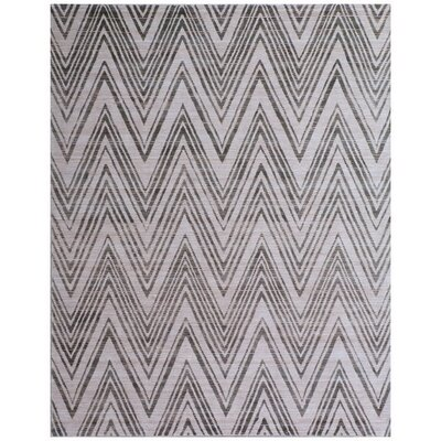 Reflections Hand-Woven Gray/Black Area Rug Rug Size: Rectangle�10 x 14