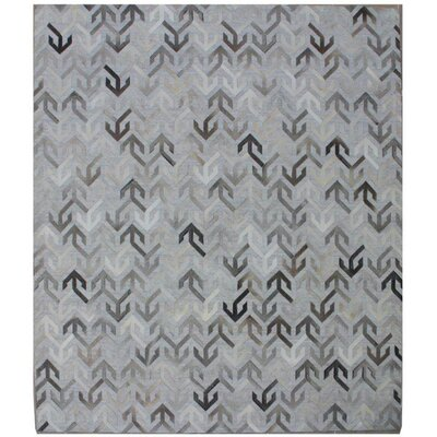 One-of-a-Kind Berlin Hand-Woven Ivory/Gray Area Rug