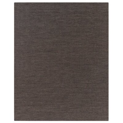 Hand woven Wool Taupe Area Rug Rug Size: Rectangle 9 x 12
