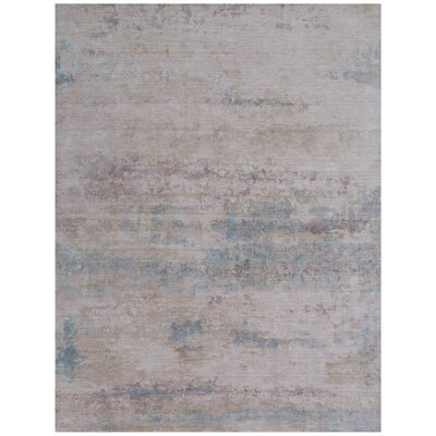 Reflections Hand-Woven Gray Area Rug Rug Size: Rectangle�6 x 9