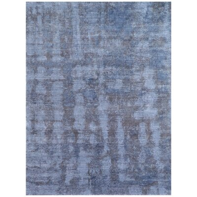 Antolini Hand-Woven Blue Area Rug Rug Size: Rectangle 12 x 15