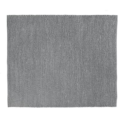 Arlow Hand-Woven Dark Gray Area Rug Rug Size: Rectangle 9 x 12