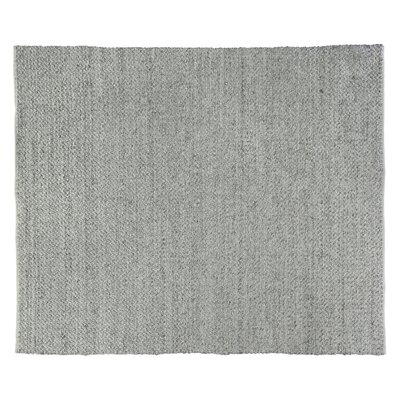 Rialto Hand-Woven Gray Area Rug Rug Size: Rectangle 12 x 15
