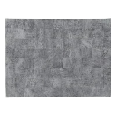 Hand woven Gray Area Rug Rug Size: Rectangle 116 x 146