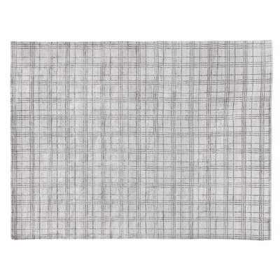 Fairbanks Hand-Woven Gray Area Rug Rug Size: Rectangle 14 x 18