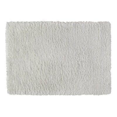 Yara Faux Sheepskin Ivory Area Rug Rug Size: Rectangle 4 x 6